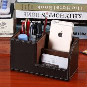 leather pen holder images