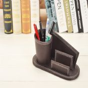 Leather pen stand images