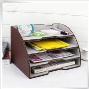 3 tier cardboard filing trays images