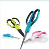 durable save effort soft rubber grip scissors images