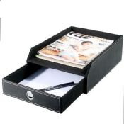 PU leather document holder images