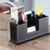 PU leather pen holder images