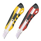 Steel material retractable heavy duty utility knife images