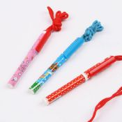 Promotional Plastic Pen with Lanyard images