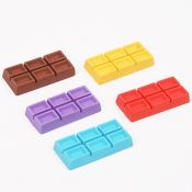 Chocolate Shape Cute 3D Scented Eraser images