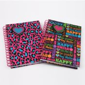 Colorful Spiral Note Book images