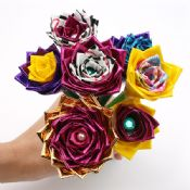 Duct Tape Flowers images