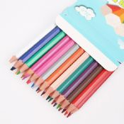 7 Plastic Rainbow Color Pencil images