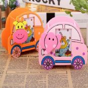 car shape wooden pen holder images