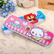 cartoon drawing metal pencil case images