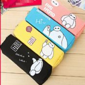 multifunction pu pencil case with zipper images