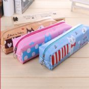 pu leather pen case images