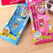 school kids stationery set images