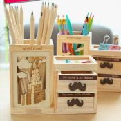 wood pencil holder images