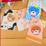 cartoon bear animal cover notebook images