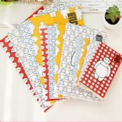 cartoon printed paper kraft notebook images