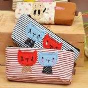 fabric pencil case with zipper images
