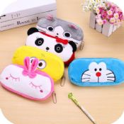 funny animals shaped fabric pencil case images