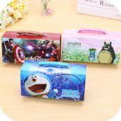 Funny pencil box with compartments images