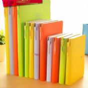 Neon color waterproof office notebook images