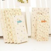 paper notebooks with flower pattern images