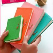 pu leather cover bound notebook images