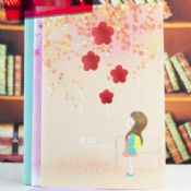 The Girl Flower Design Cute Cheap Paper Notebooks images