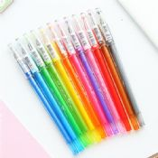 0.5mm 12 color gel pen set images