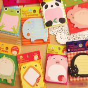 animals printed sticky note book images
