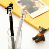 cartoon cat 2pcs in one box animal gel pen for lovers images