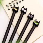 cat design plastic gel pens images