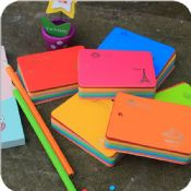 colorful spiral sticky note images