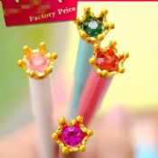 crystal crown shaped gel pens images