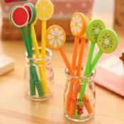 cute fruit shape gel pen images
