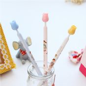 flower lovely girl pattern gift micro needle refill pen images