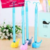 gel ink gift pen with stand for children images