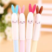 lovely rabbit gel pen with rubber grip images