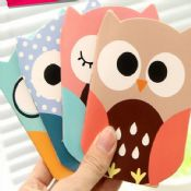 owl shaped notebooks images