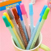 plastic color gel ink pen images