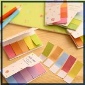 Rainbow color memo pad sticky notes images