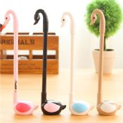 swan shaped pen holder advertisement sample korea gel pen images