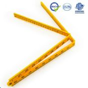 1 m long 4 fold plastic ruler images