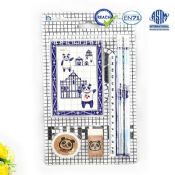 panda pencil ruler set images