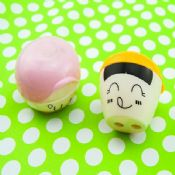 lovely face plastic pencil sharpener images
