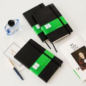 notebook with elastic pen holder images