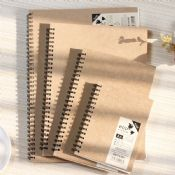 eco-friendly bamboo notebook images
