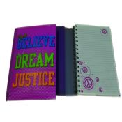 led light spiral bound paper notebook images