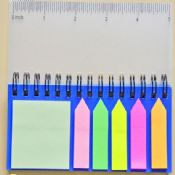 paper notepad with sticky note images