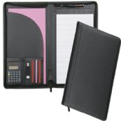 A4 Conference Folder electronic notebook with Calculator Portfolio images