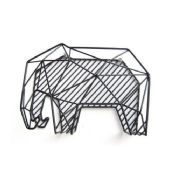 Metal Wire Elephant Type Document Organizer images
